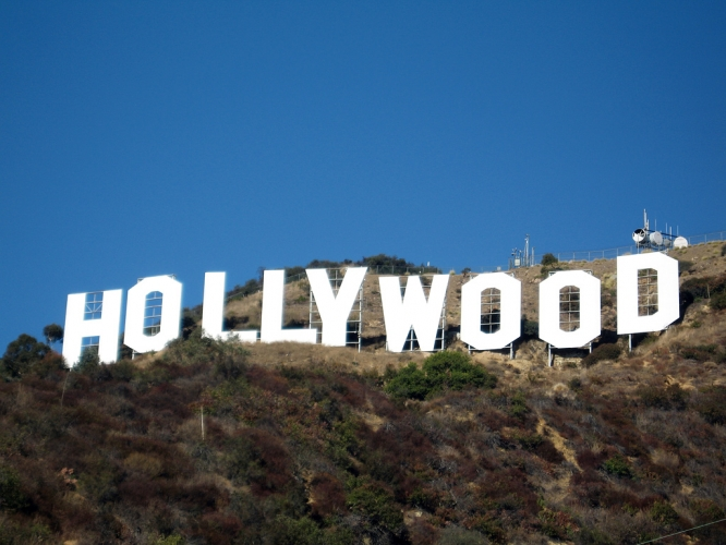 Le signe Hollywood à Los Angeles
